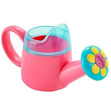 Baths grow more fun every time with this Babies'R'Us Watering Can bath toy! Designed in pink and blue, it features a decorative flower at the spout and a sturdy handle perfect for little hands.  <br><br>  The Babies R Us Watering Can features:<br><ul><li>Includes a bath toy</li><li>Designed as a watering can</li><li>Decorated in pink and blue with a decorative flower on the spout</li><li>Sturdy handle is perfect for little hands</li><li>Spill guard makes it easy to pour water from the ...