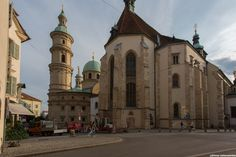 Dom, Graz (AT) by Otmar Lichtenwörther on Taj Mahal, Cathedral, Spaces, Building, Travel, Graz, Voyage, Buildings, Cathedrals