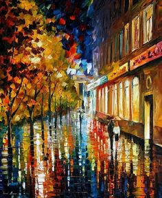 After The Holidays by Leonid Afremov