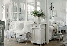 ❥ peaceful in white