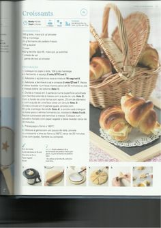 150 receitas Bimby (melhores de 2013) Croissants, Multicooker, Breakfast Snacks, Happy Foods, Everyday Food, Sweet And Salty, I Foods, Cooking Tips, Chocolate