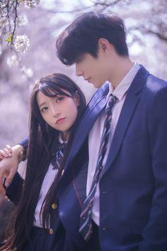 Falling In Love Again, I Fall In Love, Ulzzang Korea, Best Boyfriend, Korean Couple, 3d Girl, Ulzzang Couple, I Still Love You, Japan Girl