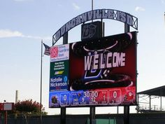 Duncanville High School's digital scoreboard, which was unveiled in 2008, could be an example of Lumpkins Stadium's newest feature. The WISD school board voted on and approved a $500,000 purchase for a new digital scoreboard to be build before the new season begins in September.