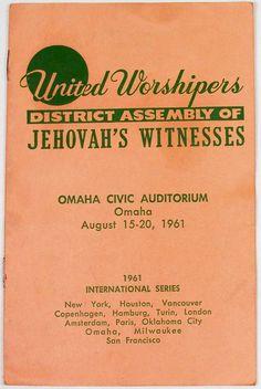 1961 District Assembly (International Series)program (Roger Johnson)