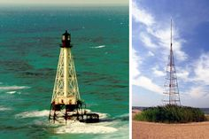 U.S. COASTAL WARNING TOWERS -  Before radar and radio communications, warning systems were much, much different. In 1898, President William McKinley ordered the implementation of a weather warning system for ships. Towers were built along the eastern coastline, known as Coastal Warning Display Towers.