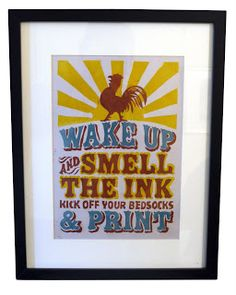 LETTERPRESS IN THE UK: MY NEW PRINT