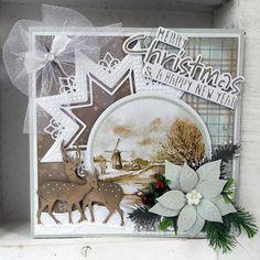 Marianne Design Cardtopper Favorites - Mattie's Winter Country CT1502