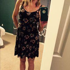 Hp 3/20/16nwot Black Strappy Dress