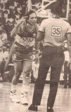 Robert 'Big J' Jaworski Philippine Basketball Association, Basketball Players, Nba, Baseball Cards, Retro, Sports, San Miguel, Hs Sports, Retro Illustration