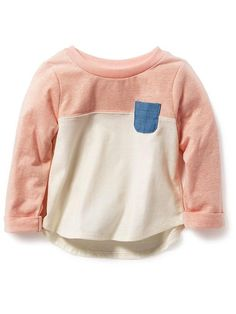 Color-Block Pocket Tee Product Image