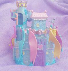 ღ, cherry-chii: Blue starcastle + inside Retro Toys, Vintage Toys, Daddy Kitten, Childhood Memories 90s, Bloom Baby, 90s Party, Pink Wallpaper Iphone, Polly Pocket, Patch Kids