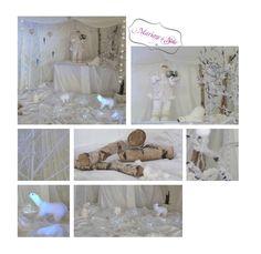 Décoration Mariage à Soie Décoration mariage, mariage en hiver, mariage blanc, décoration bois, wedding, draps blanc, ours, père noël