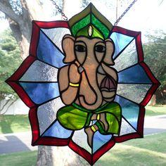 Stained glass ganesha Blog — Adam Opatik Scott | Graphic Designer