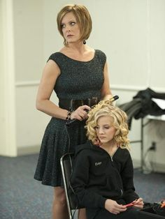 Kelly's out to kill…with her curling iron that is :) Dance Moms inside joke!