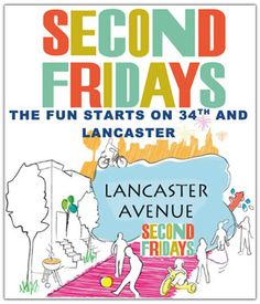 """""""Second Fridays"""" return to Lancaster Avenue in Philadelphia, from 6 - 9 p.m., with a night of art, music and shopping."""