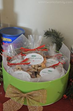 Christmas Gift Making Party Ideas - candied nuts