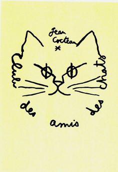 Club des amis des chats Jean Cocteau