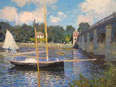 Monet - Pont d'Argenteuil Datepossibly c. 1874