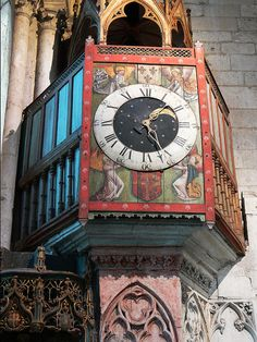 Medieval clock, Beauvais Cathedral, Beauvais, France beauvais 047 | by Walwyn