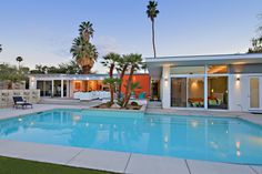 Mid-century modern home and pool in Palm Desert CA... but by the ocean too ;)