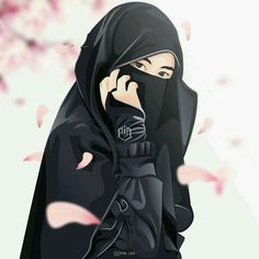 A scarf is an essential bit in the garments of women with hijab. Given it is central to the equipment that wi Girl Cartoon, Cartoon Art, Cute Cartoon, Tmblr Girl, Muslim Pictures, Hijab Drawing, Islamic Cartoon, Hijab Cartoon, Islamic Girl