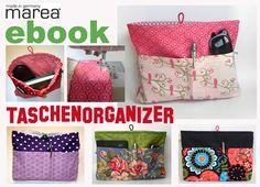 Nähanleitung Taschenorganizer, ebook Diaper Bag, Lunch Box, Bags, Etsy, Tutorials, Handbags, Diaper Bags, Mothers Bag, Bento Box