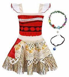 AmzBarley Moana Dress up Toddler Girls First Birthday Princess Dress up Cospl. Moana Dress Up, Cinderella Dress Up, Princess Aurora Fancy Dress, Princess Moana, Belle Dress, Princess Costumes, Girl Costumes, Moana Costumes, Moana Outfits