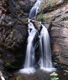 Lodgepole Falls Montana