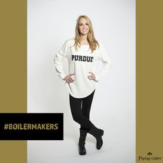 Isn't this Purdue sweatshirt ADORABLE?!