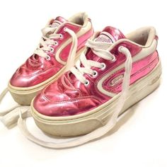 Candie's, a prominent footwear brand of the era, sought to keep their customer happy with hologram sneakers for girls and women.   19 Relics From The '90s Hologram Epidemic