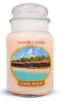 Yankee Candle Coral Beach So awesome! Can already imagine the warm beach smell!