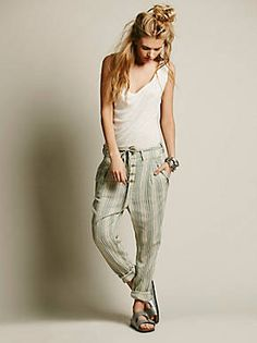 Free People True Companion Trouser, $98.00