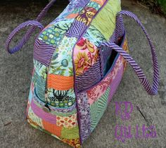 Weekender Bag by KD-Quilts