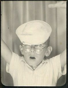 Boys in the Booth : Vintage Photo Ops | Hotel de Ville: A Vintage Eyewear Blog