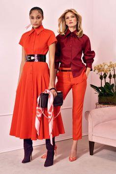 Brandon Maxwell Pre-Fall 2020 Collection - Vogue dress, Brandon Maxwell Pre-Fall 2020 Fashion Show Fashion Moda, Look Fashion, High Fashion, Fashion Show, Autumn Fashion, Womens Fashion, Fashion Design, Fashion Quiz, Vogue Fashion