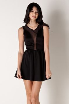 Lulu Dress in Black by For Love and Lemons for $87.00  *filed under: things I would wear if I had perfect boobs