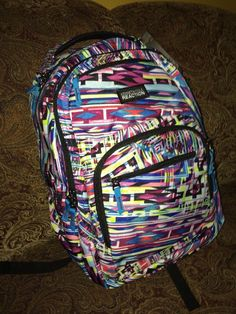 """NWT Kenneth Cole Reaction R-Tech 16"""" Laptop Backpack 5709776W Kaleidoscope #KennethColeREACTION"""