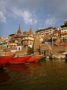 #Varanasi #India #Ganga #Boat