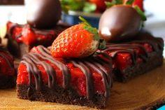 Recipe: Chocolate Covered Strawberry Bars
