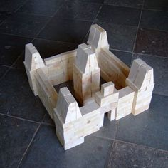 Wooden Building Blocks, Wooden Buildings, Jenga, Etsy, Architecture, Basket, Clearance Toys, Nice Asses