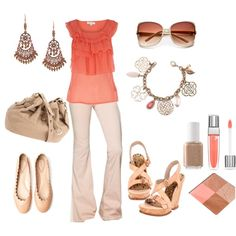 Blushing For You, created by mrsgena on Polyvore