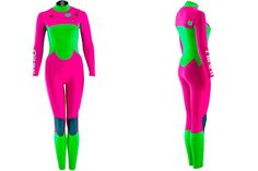 Original designs and super comfortable, Nikki wetsuits adds a bit of colour to the black and sad everyday neoprene.