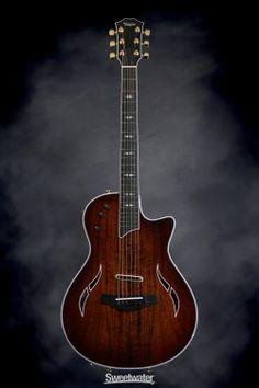 Taylor T5z Custom Ac El Koa top with shaded edgeburst