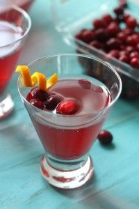 Easy Cranberry Party Punch