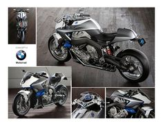 BMW Motorrad Concept by Don Cammorata