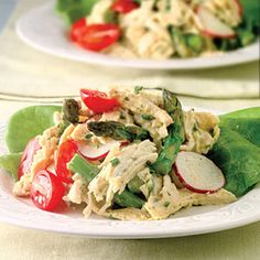 Chicken Salad With Asparagus