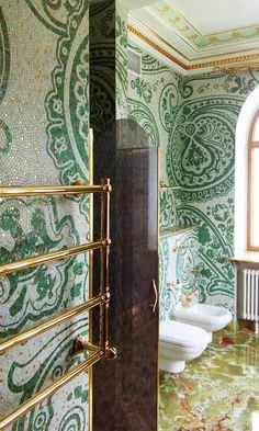 Cosa pensate di questo bagno in mosaico artistico? - What do you think about this bathroom in artistic mosaic?