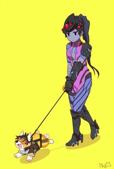 Widowmaker,Overwatch,Blizzard,Blizzard Entertainment,фэндомы,Tracer,Overwatch art
