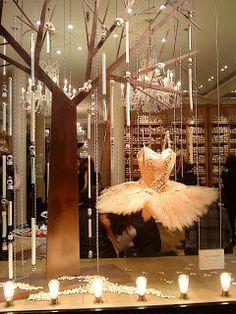 Repetto's shop window Paris