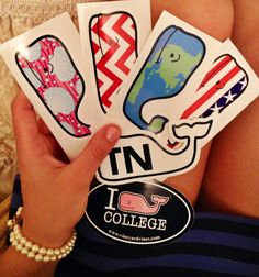 "princess-of-oxford: "" New Vineyard Vines stickers!"